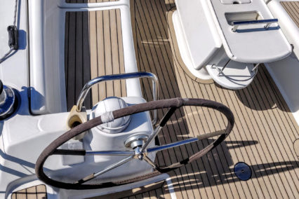 Beneteau Oceanis 40 with Faded and Black