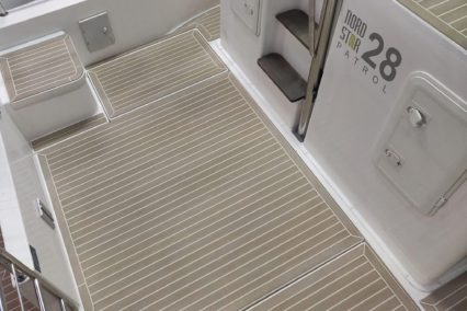 Nord Star 28 Patrol with Faded and White Caulking